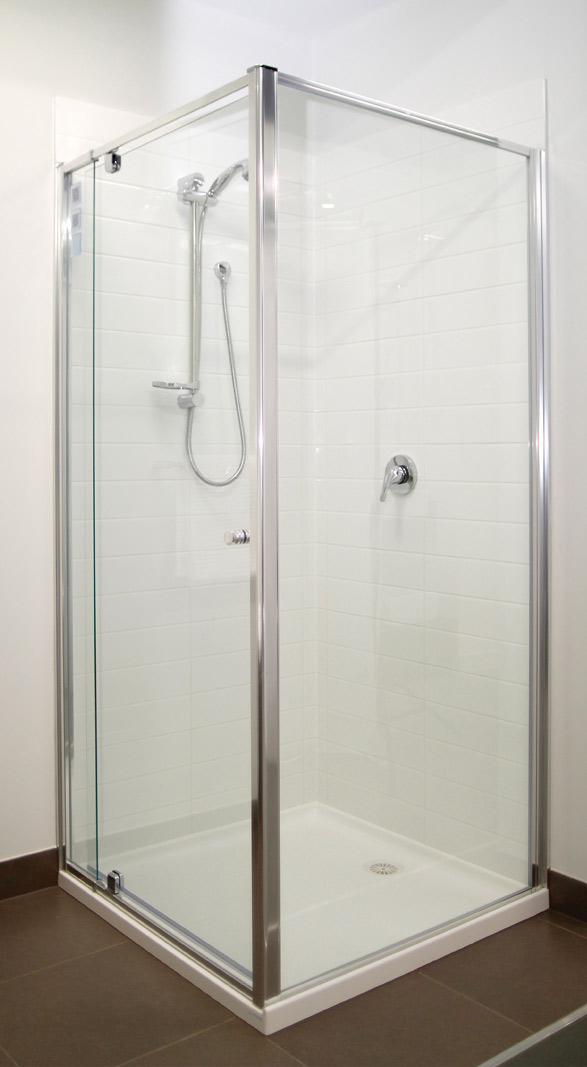 The Executive semi framed shower screen.